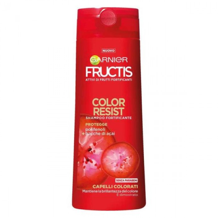 FRUCTIS SHAMPOO COLOR RESIST 250