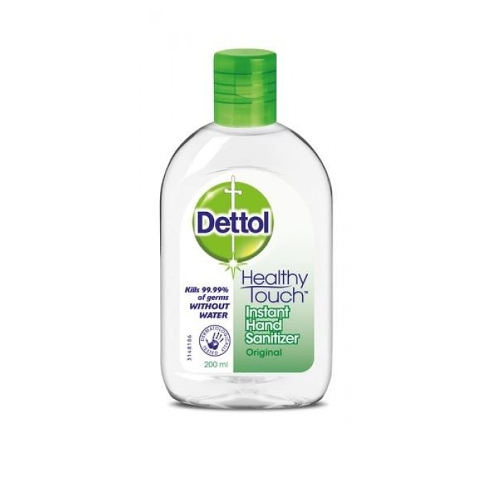 DETTOL HAND SANITISER 200ML ORIGINAL