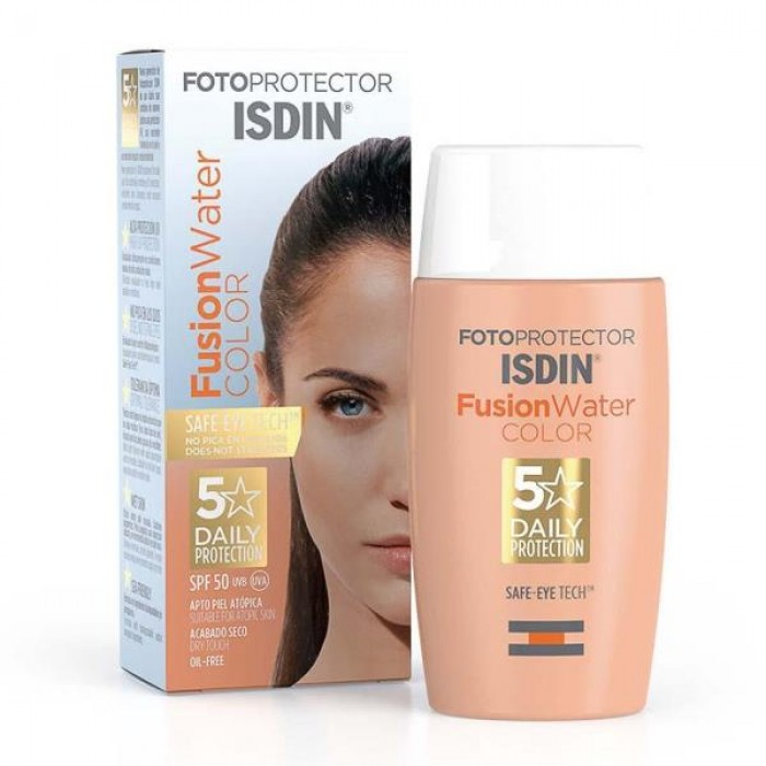 ISDIN FOTO PROTECT 50+ FUSION WATER 50ML {COLOUR}
