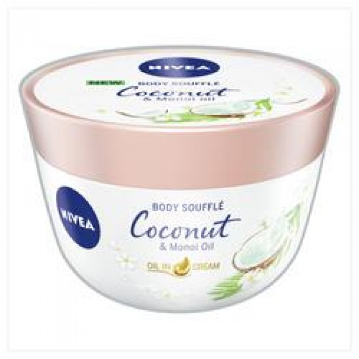 NIVEA COCONUT BODY SOUFFLE 200ML
