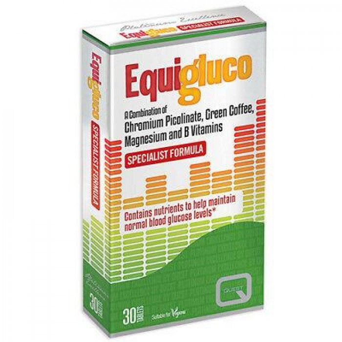 QUEST EQUIGLUCO X 30 TABS