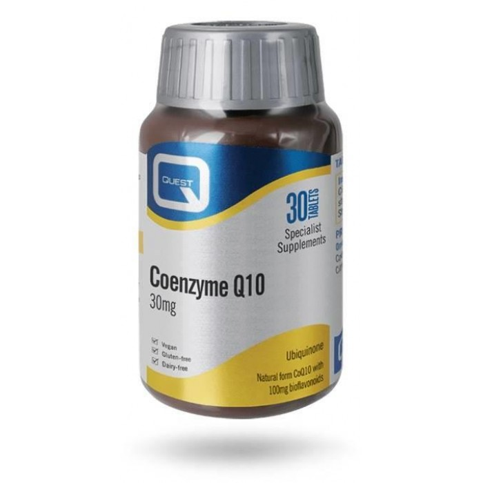 QUEST - CO ENZYME Q10 30MG TAB