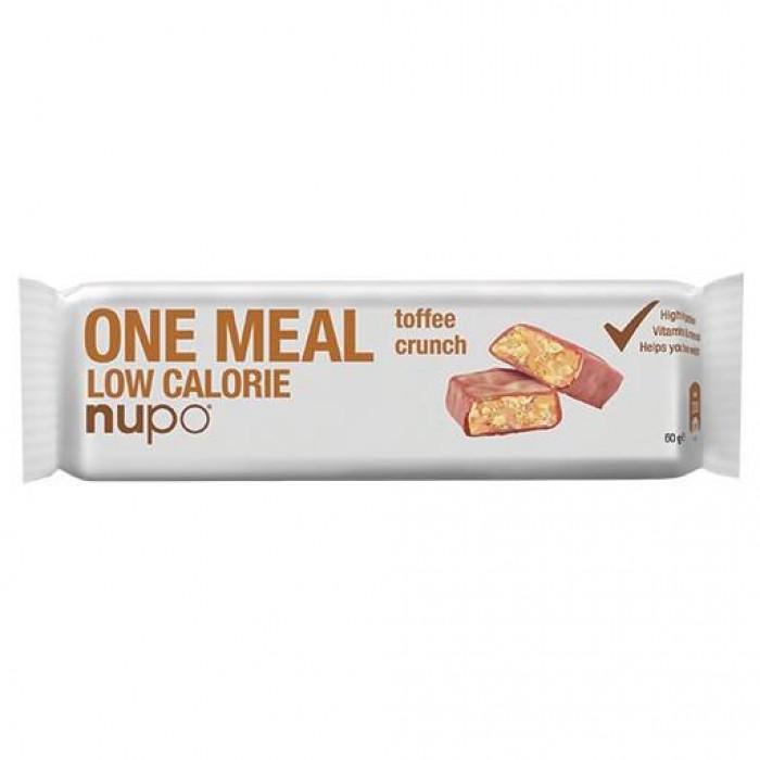 NUPO MEAL BAR TOFFEE CRUNCH  L/CALORIE /977671