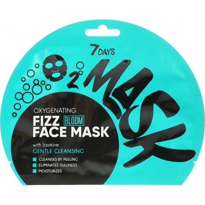 7 DAYS BLOOM FIZZ FACE MASK GENTLE CLEANSING