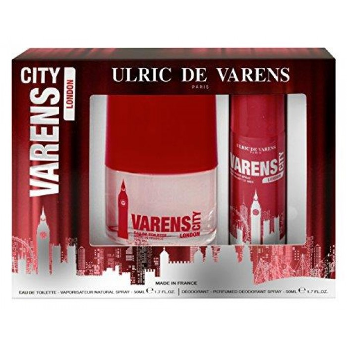 COFFRET CITY LONDON 50ML + DEO