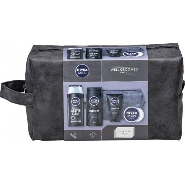 NIVEA WELL GROOMED GIFT PACK ACTIVE CLEAN