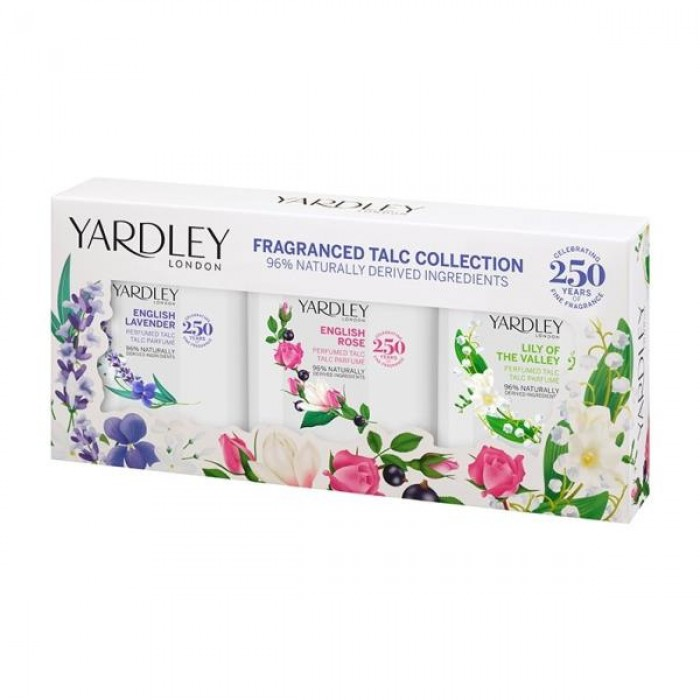 YARDLEY FRAGRANCED TALC COLLECTION GIFT SET