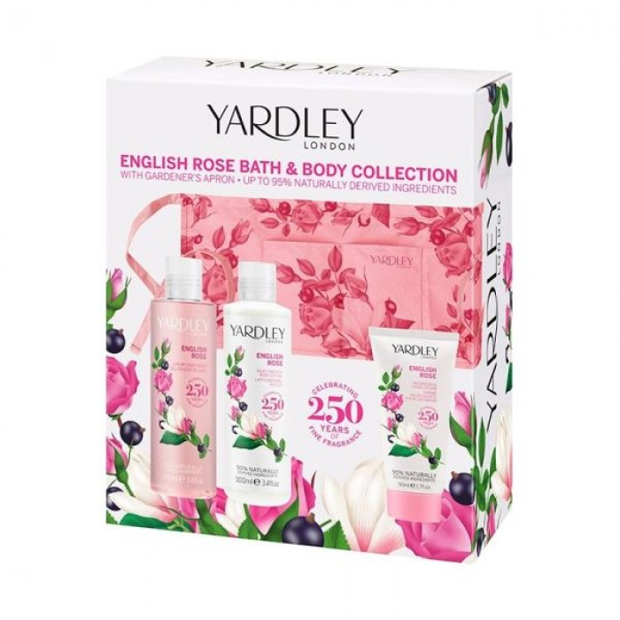 YARDLEY ENGLISH ROSE BATH & BODY COLLECTION