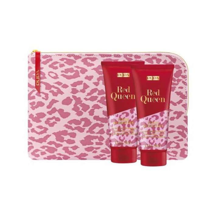 PUPA GIFT PACK WITH SCENTED SHOWER MILK BODY LOTION & POUCH - 002 - FRESH ALDEHYDES