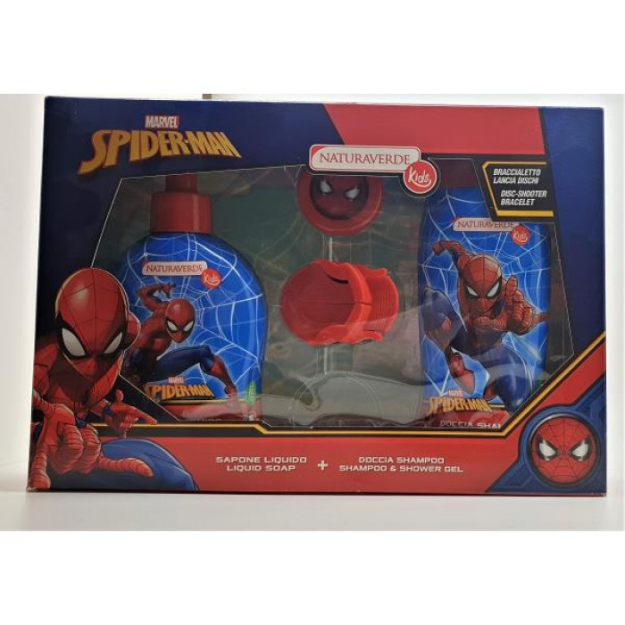 SPIDERMAN SET SHAMP + SH/GEL + DISC SHOOT / SOSPSET2
