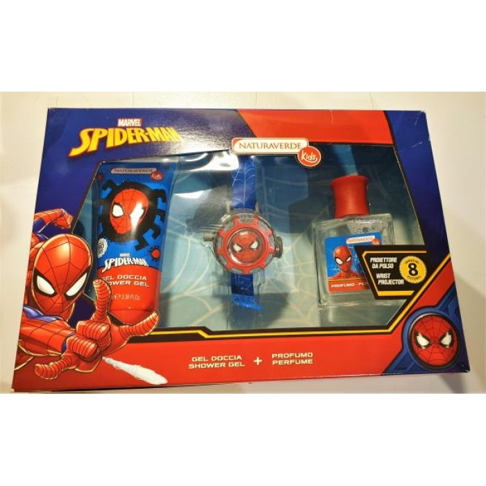 SPIDERMAN SET EDT +SG + WRIST PROJRCTOR /SOSPSET1