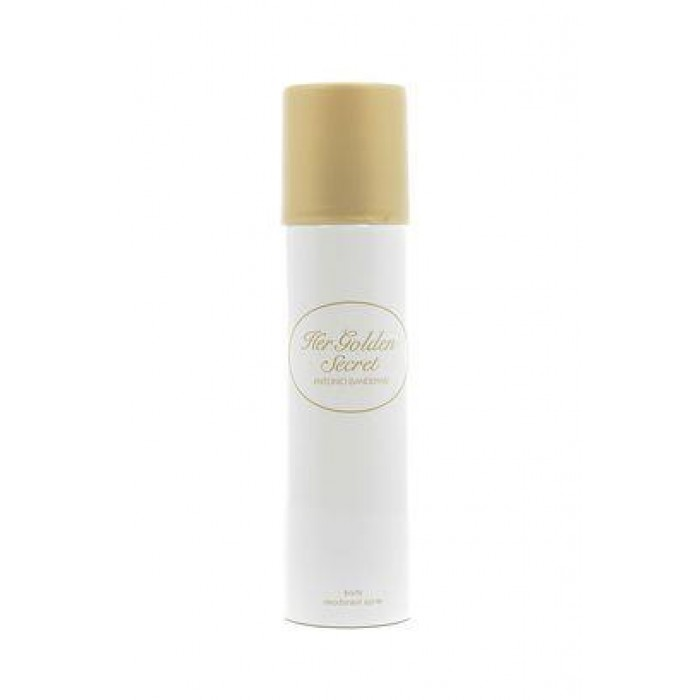 ANTONIO BANDERAS HER GOLDEN SECRET DEO 150ML